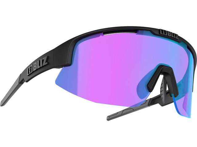 Bliz Matrix M11 Smallface Gafas, matte black/violet/blue multi nordic light